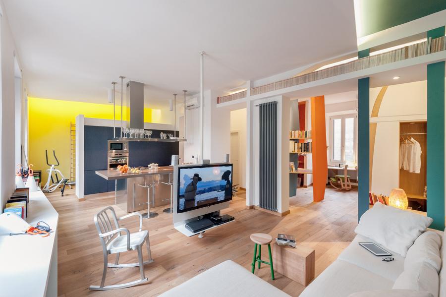 Ristrutturazione di un appartamento/loft