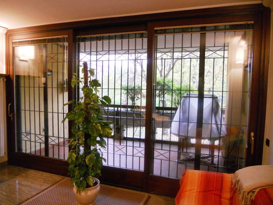 grata di sicurezza su misura finestra 6 metri totali