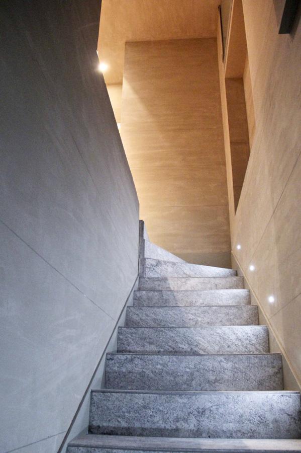 Foto parete decorativa materica effetto cemento di codice for Parete effetto cemento