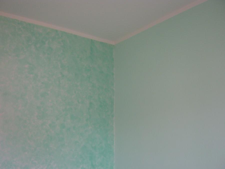 Foto effetto spugnato perlato di f m di munaron franco for Effetto spugnato pareti foto