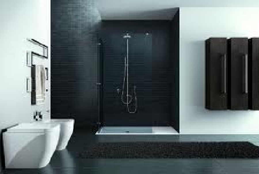 Esempi Di Bagno Moderno.20 Idee Di Arredamento Bagno In Grigio Idea Bagno Pavimenti E