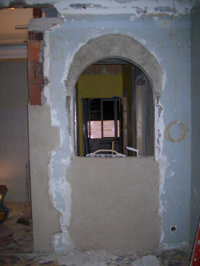 Esempio rifacimento ingresso anticamere