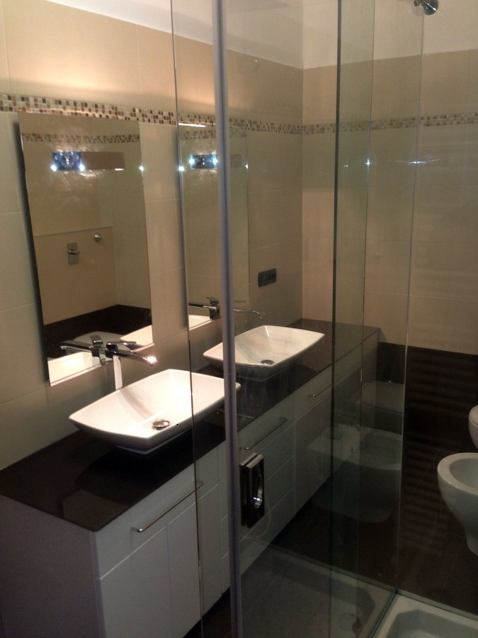 Foto esempio ristrutturazione bagno di artigiana extra for Esempio preventivo ristrutturazione bagno