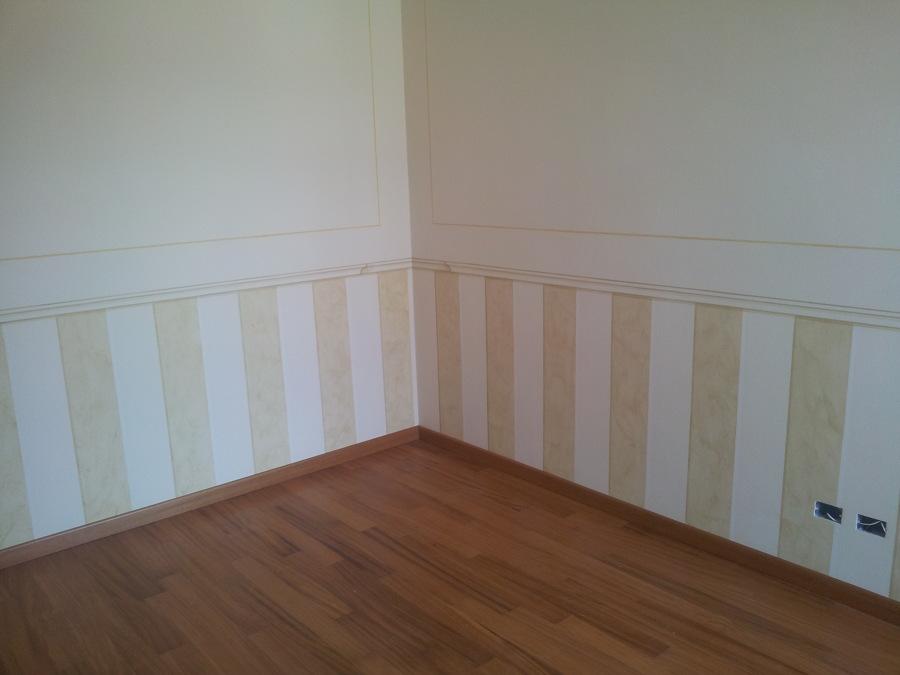 Foto fasce decorative effetto velato con vinta cornice di for Immagini decorative per pareti