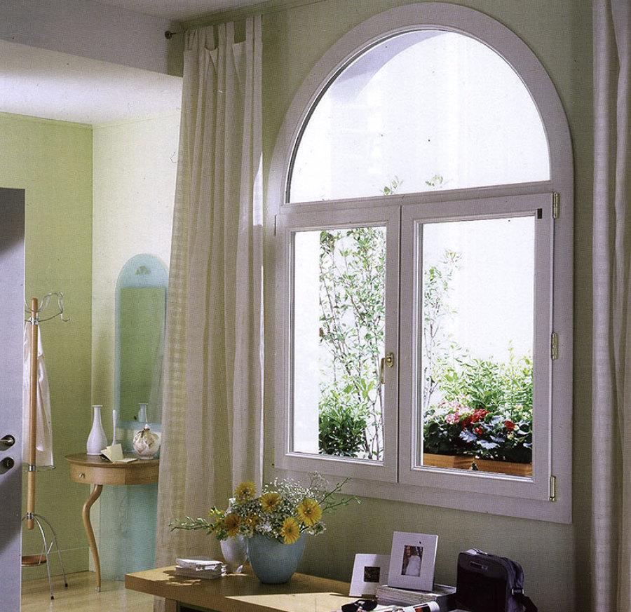 Foto finestra ad arco di proferal s r l 209176 - Finestre ad arco ...