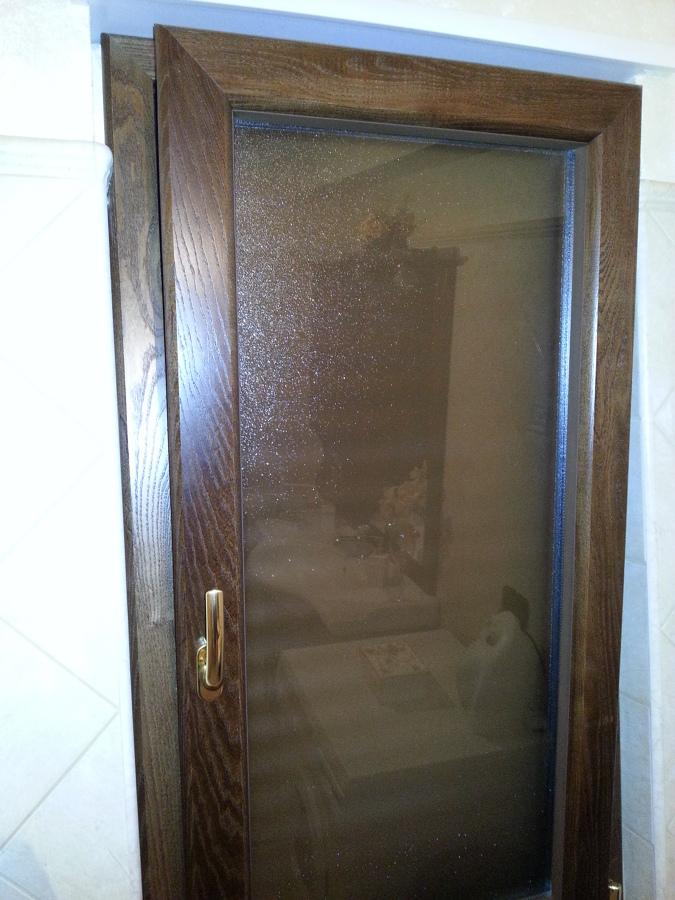Foto finestra alluminio legno taglio termico con - Finestra a taglio termico ...