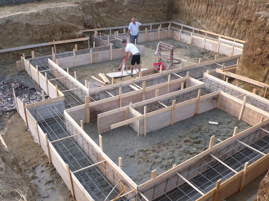 Foto fondazioni per villa di impresa edile ursomarso remo for Costruire una villa