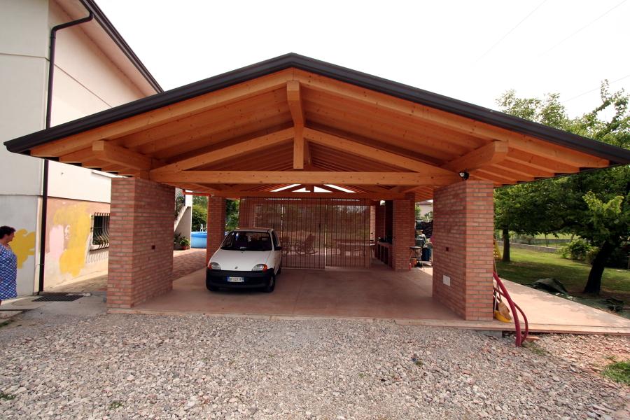 Garage privato for 2 idee di progettazione di garage per auto