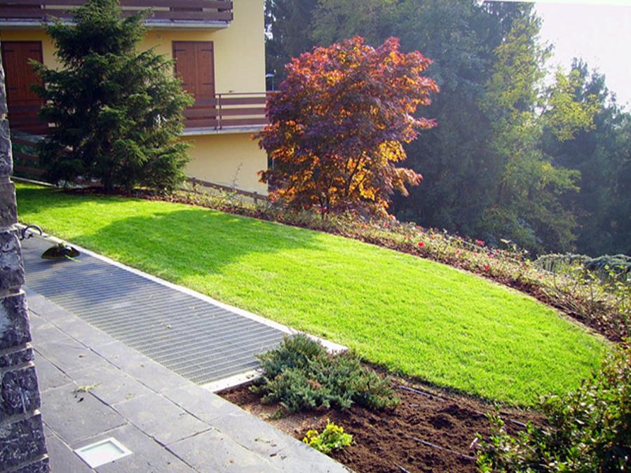 foto giardino con muretti in tufo sant 39 omobono terme