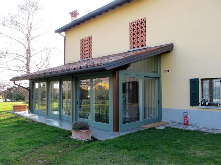 Foto giardino d 39 inverno di aprire srl 51512 habitissimo - Giardino d inverno in terrazza ...