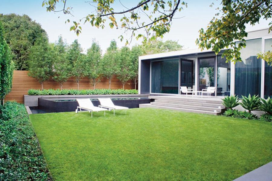 Foto giardino moderno di giardino express a b 187373 for Giardini moderni design