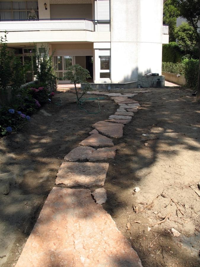giardino privato prima
