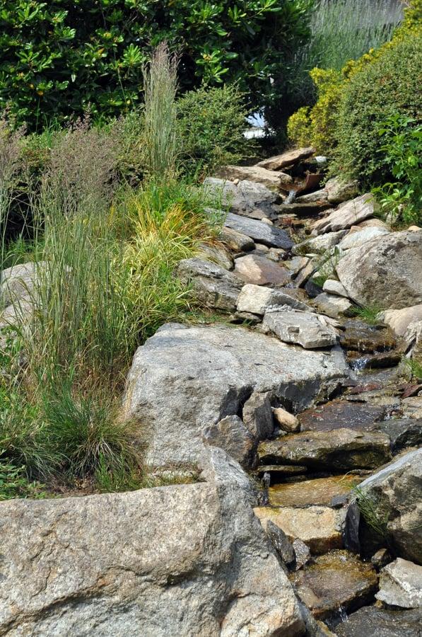Foto giardino roccioso di architettura di terrazzi e for Giardino roccioso