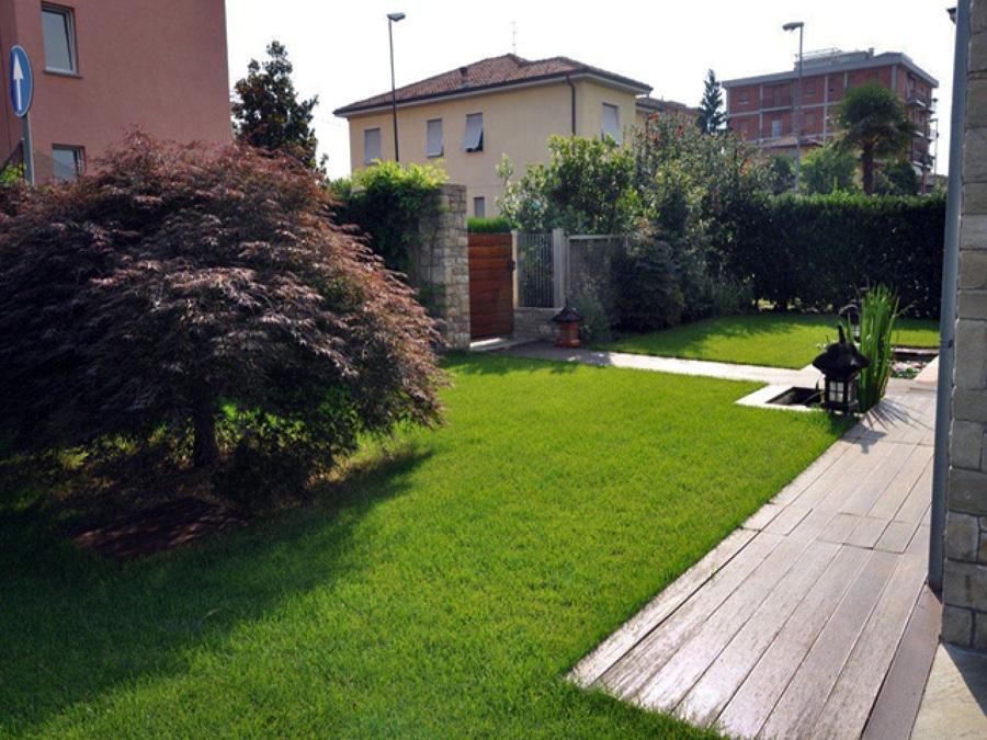 Giardino villa singola - Stezzano (BG)