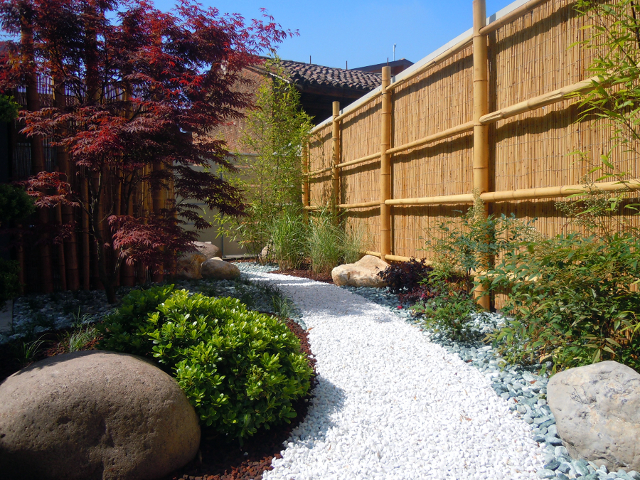 Foto giardino zen di studio green 65282 habitissimo - Foto giardino zen ...