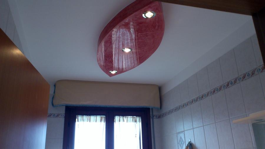 Foto goccia in cartongesso soffitta bagno di avcolor di valerio visone 89444 habitissimo - Cartongesso per bagno ...