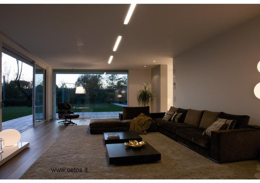 Foto: Grandi Vetrate In Alluminio Fisse e Scorrevoli di Cetos Architetture Di...