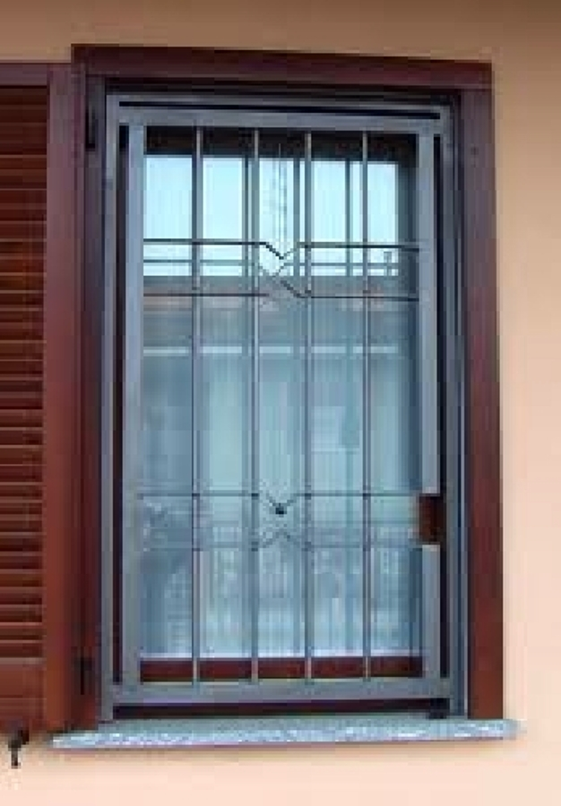 Foto grate blindate di margagliotti porte finestre e - Grate di sicurezza per finestre ...