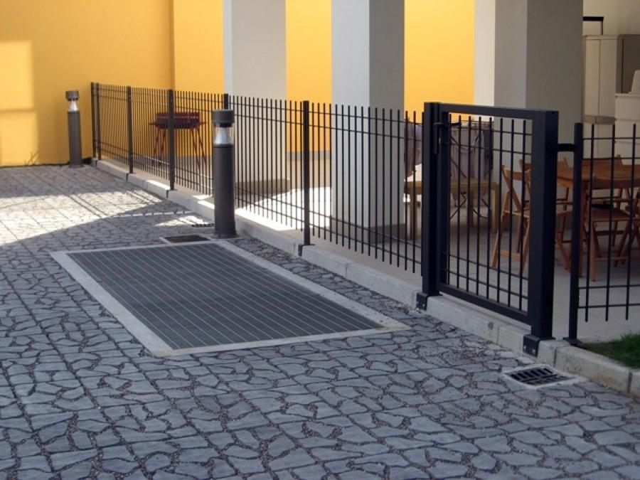 Grigliato e recinzione