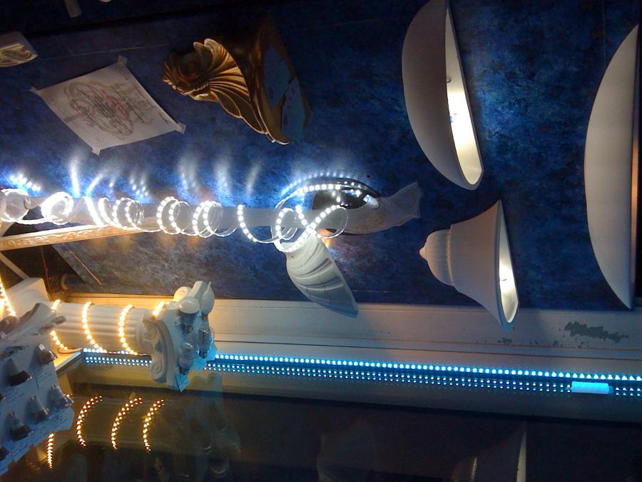 i sistemi luce a Led de La Bottega degli Stucchi