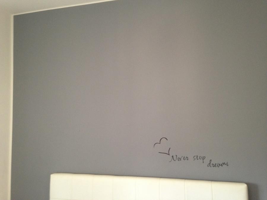Muro pitturato grigio