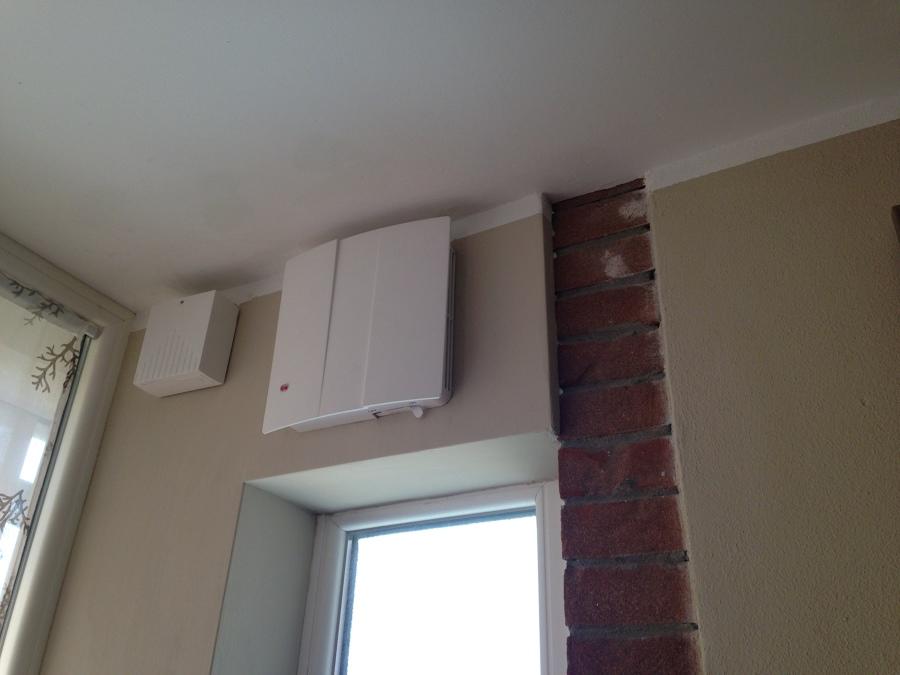 aspiratore per ricambio aria interno