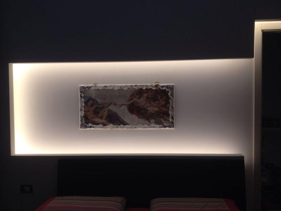 Foto parete letto matrimoniale di ditta giuseppe fucile - Parete letto matrimoniale ...