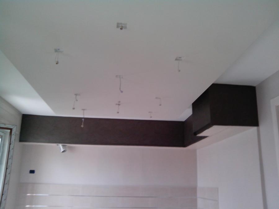 Cabina Armadio Cartongesso Knauf : Foto abbassamento e chiusura cucina in cartongesso knauf effetto