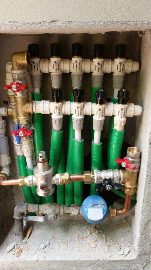 collettore idraulico