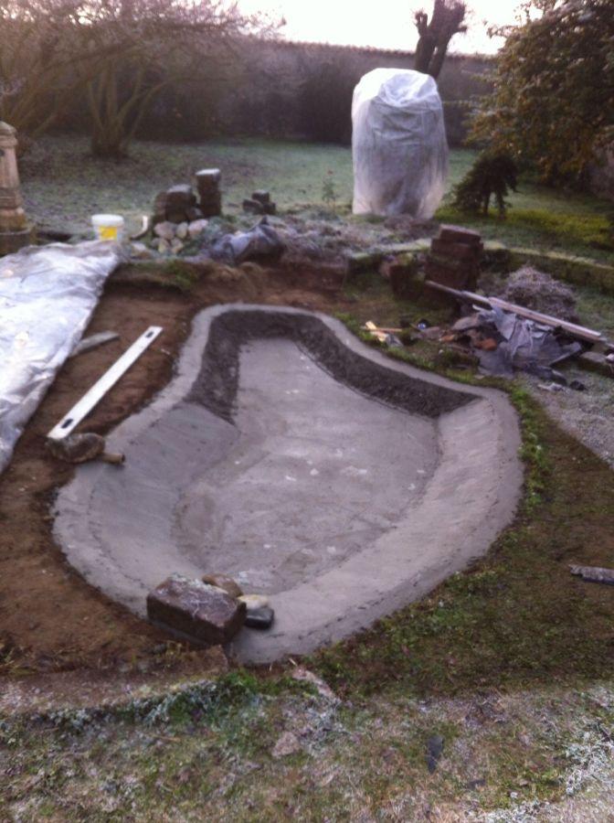 Foto realizzazione di laghetto artificiale di l a for Creare laghetto artificiale