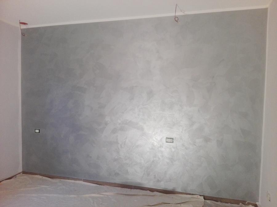 Foto pittura decorativa effetto metallizzato gioia di - Pittura decorativa pareti ...