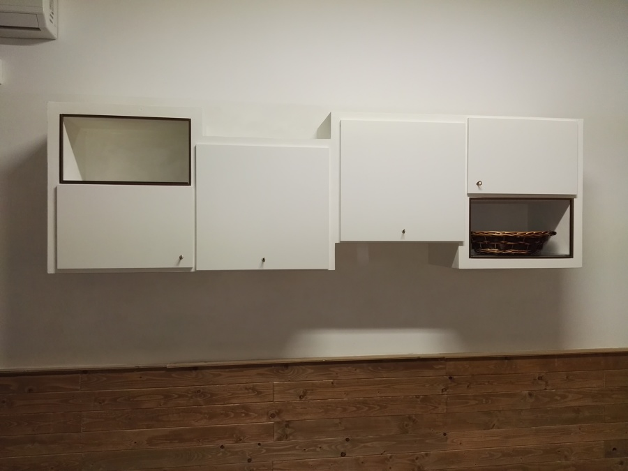 Cabina Armadio Cartongesso Knauf : Foto armadio sospeso in cartongesso knauf pittura oikos biamax di