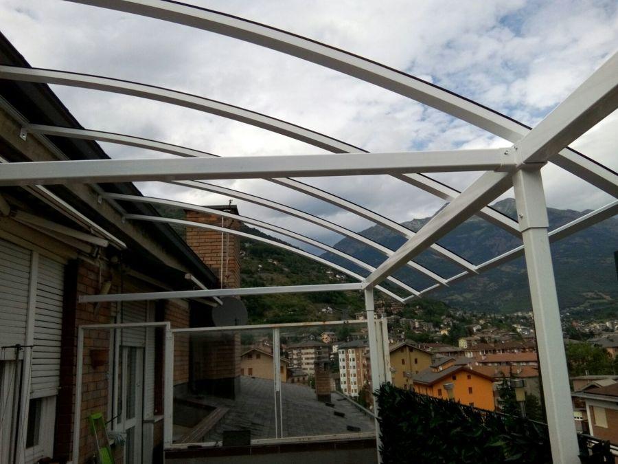 Copertura in policarbonato in Valle d'Aosta