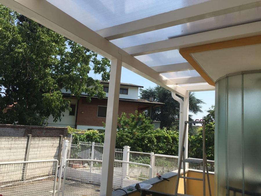 Emejing copertura terrazzo in policarbonato pictures idee