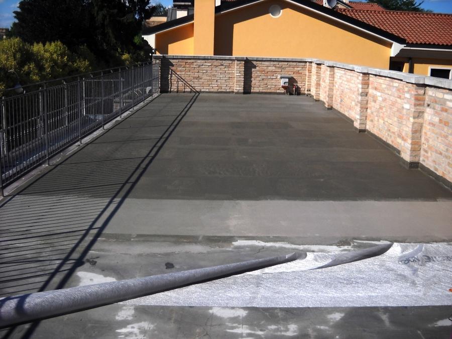 Foto impermeabilizzazione tetto piano di trolese for Piani tetto shed