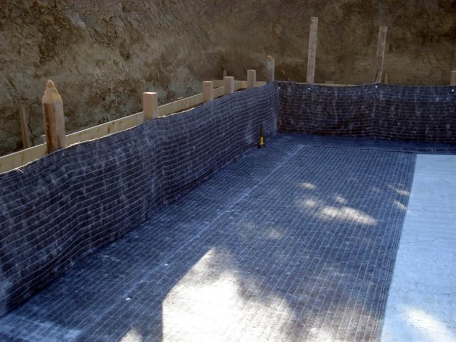 Impermeabilizzazioni con prodotti betonitici