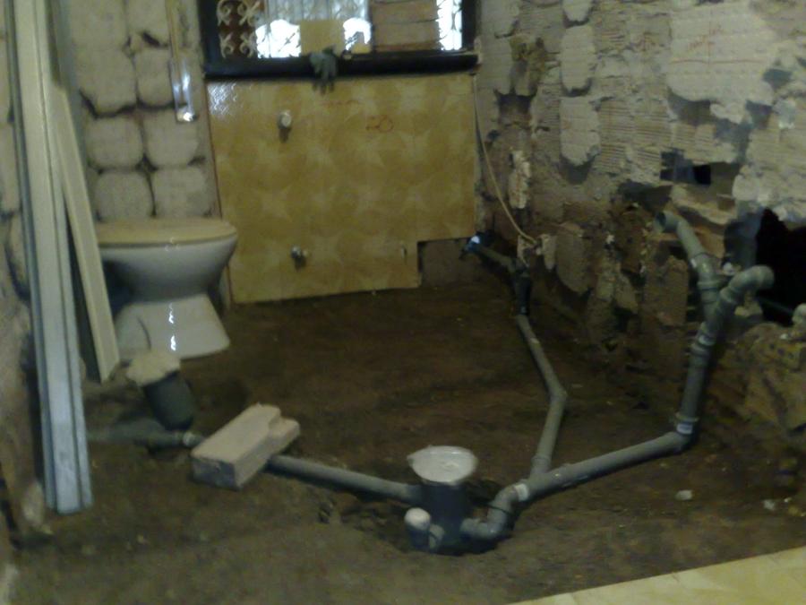 Foto impianti di scarico di unika appalti by spqr 54841 - Impianto di scarico bagno ...