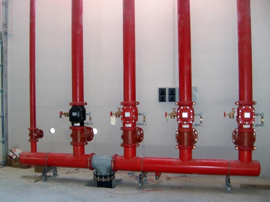 impianto centralizzato antincendio