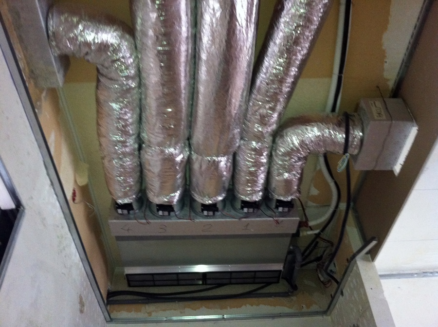 Foto impianto di climatizzazione canalizzato di climatech for Impianto condizionamento canalizzato