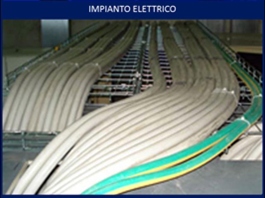 Foto Impianto Elettrico Industriale Cablaggio Di Pm
