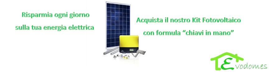 """Impianto Fotovoltaico con formula """"Chiavi in Mano"""""""