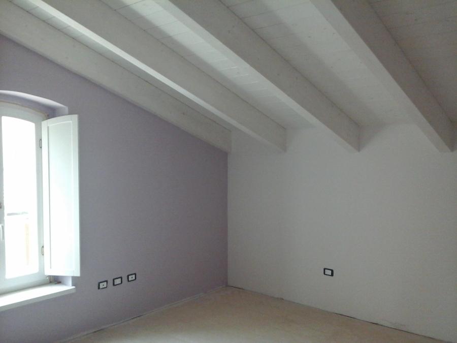 Travi Soffitto Legno Bianco ~ Design casa creativa e mobili ispiratori