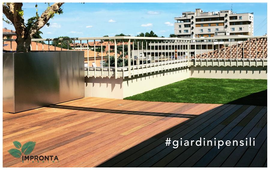 Foto: Realizzazione Terrazzi e Giardini Pensili di Impronta Giardini ...