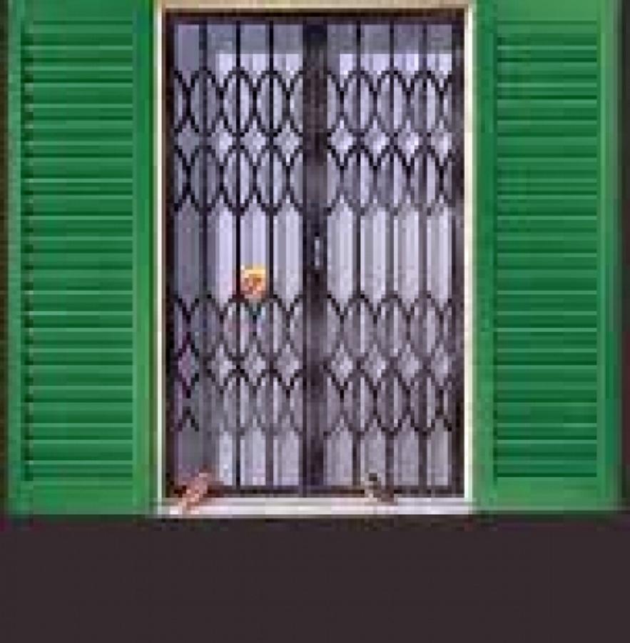 Foto inferriata di sicurezza apribile per finestre di - Modelli di zanzariere per porte finestre ...