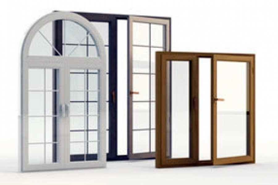 Foto infissi in alluminio alluminio legno pvc for Infissi in pvc sassari