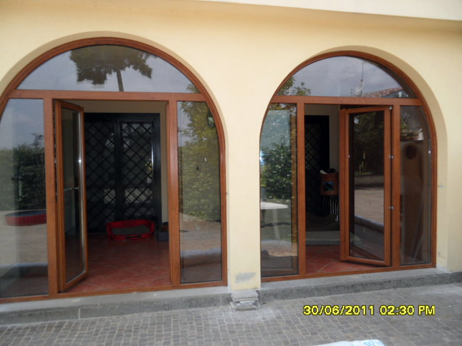 Foto infissi in pvc di infissi 2000 46528 habitissimo for Infissi in pvc sassari