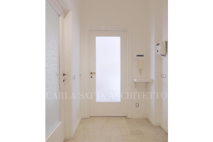 Foto ingresso porte con vetro goffrato ristrutturate di - Porte ingresso vetro ...