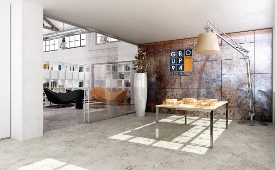 Foto ingresso studio di progettazione di pareti divisorie for Piccoli piani di progettazione in studio