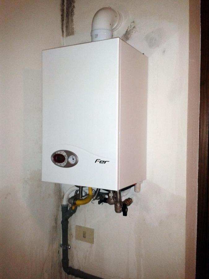 Foto installazione caldaia a condensazione di thermosan - Caldaia a condensazione costo installazione ...