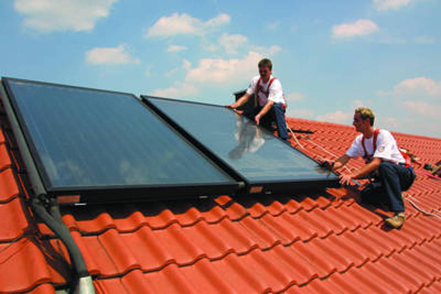 Foto: Installazione Pannelli Fotovoltaici De MULTICLIMA TECNOLOGIA IMPIANTI #201171 - Habitissimo